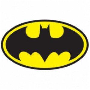 If you're Batman, then using a bat symbol as your logo completely makes sense.