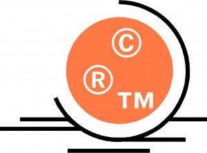 The copyright, registered trademark, and trademark symbols