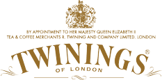 The Twinings logo has been in continuous use since it was created in 1787.
