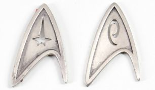 Star Trek (2009) film memorabilia auction. Las Vegas, America - Nov 2009