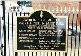 Traditional Catholic Sign