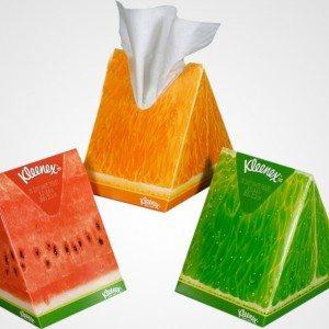 Creative Kleenex Packaging