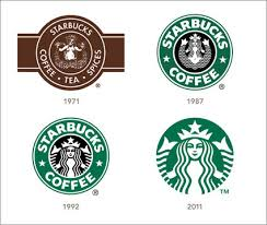 Take a look at how Starbucks has changed its logo as the company has changed over the years.