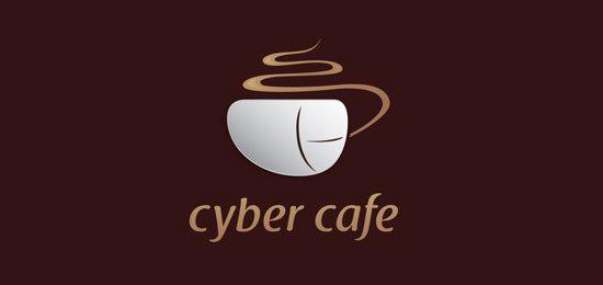 Restaurant-Logos-Cyber-cafe