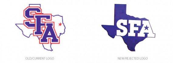 SFA Old/New Logos