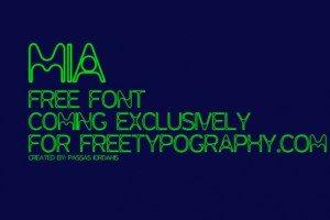 Mia Typeface